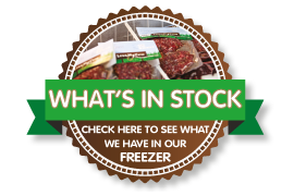 What's in stock - click here to see what we have in our freezer